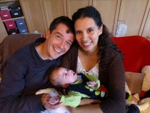 Emil, Jen & Holger in 09/2009