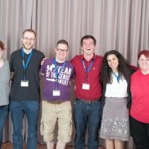 ZNM-Organizers: Tracy, Hannes, Frank, Holger, Jen, Elke